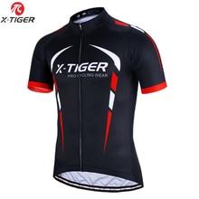 X TIGER 100% kolarska koszulka z poliestru letnia odzież rowerowa górska Maillot rower wyścigowy odzież rowerowa