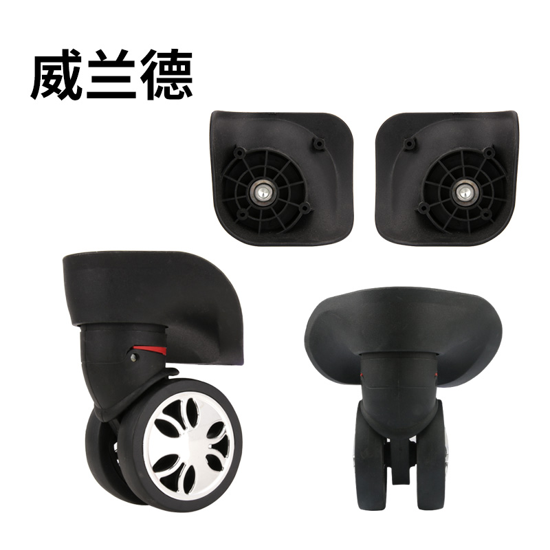 Replacement Luggage  Wheels  Casters Suitcase  Accessories  Mute Traveling Case Replace 360 Spinner Wheels Pull Rod Box Casters