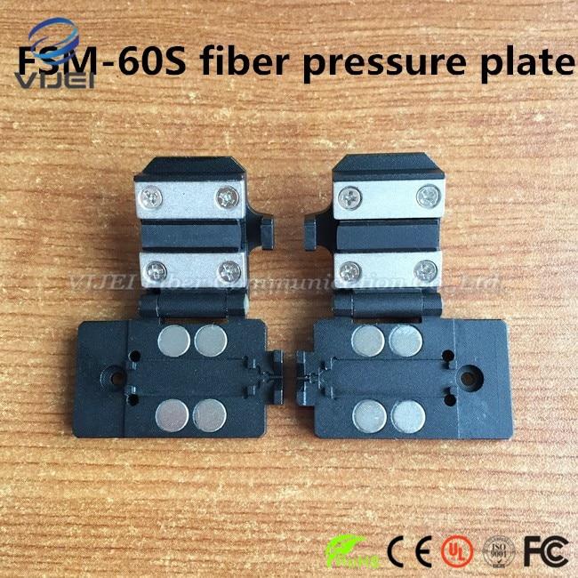 Fujikura FSM-60S Fusion Splicer 250um 900um pigtail jumper clamp / Fiber holder /Fixture 1 pairFujikura FSM-60S Fusion Splicer 250um 900um pigtail jumper clamp / Fiber holder /Fixture 1 pair