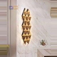 g4 led Nordic Alloy Stainless Steel Designer LED Lamp LED Light Wall lamp Wall Light Wall Sconce For Bar Store Foyer Bedroom