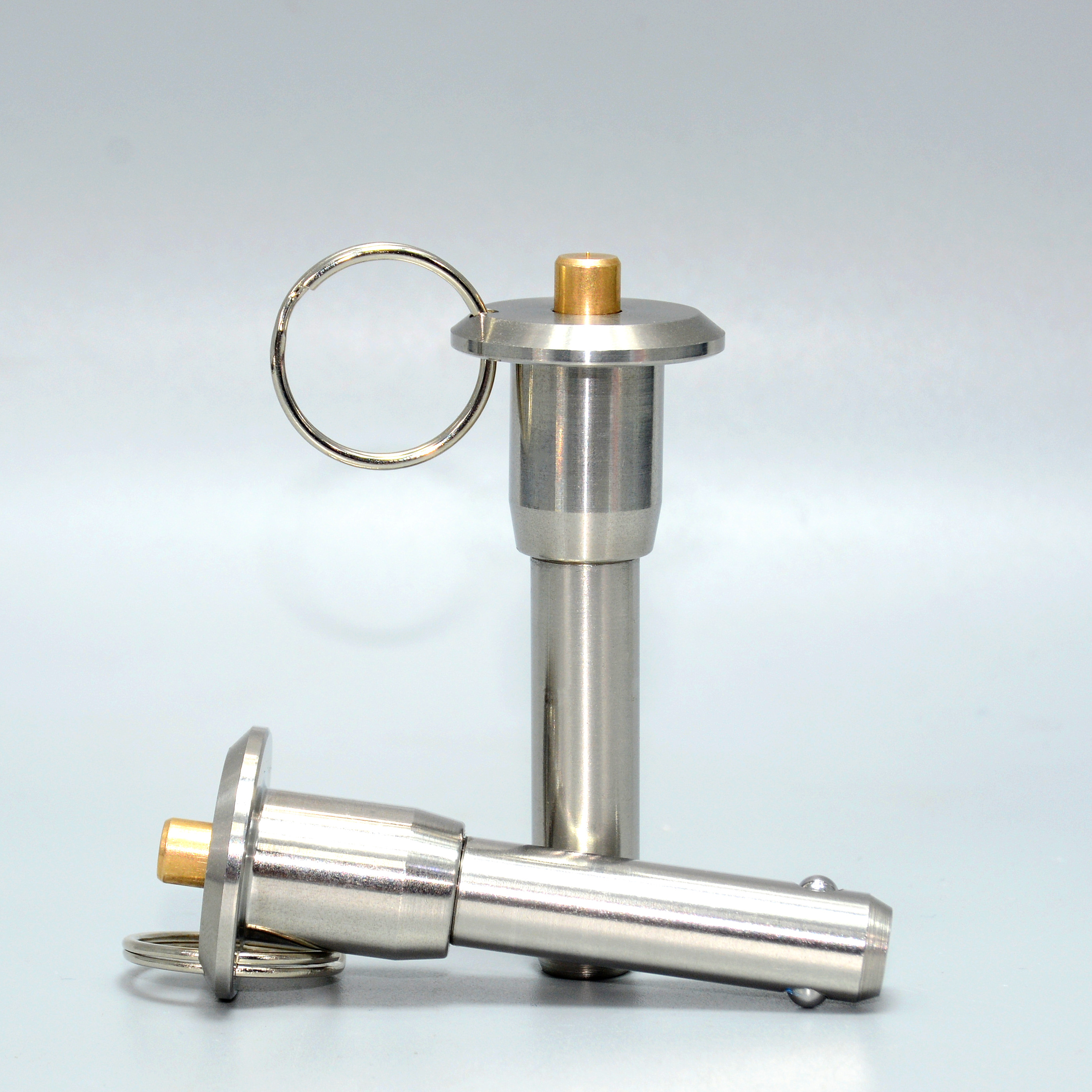Stainless Steel 304  Quick Release Pin Ball Lock Pins  Diameter 5/6/8/10/12/16/20/25, Length 10-100mm
