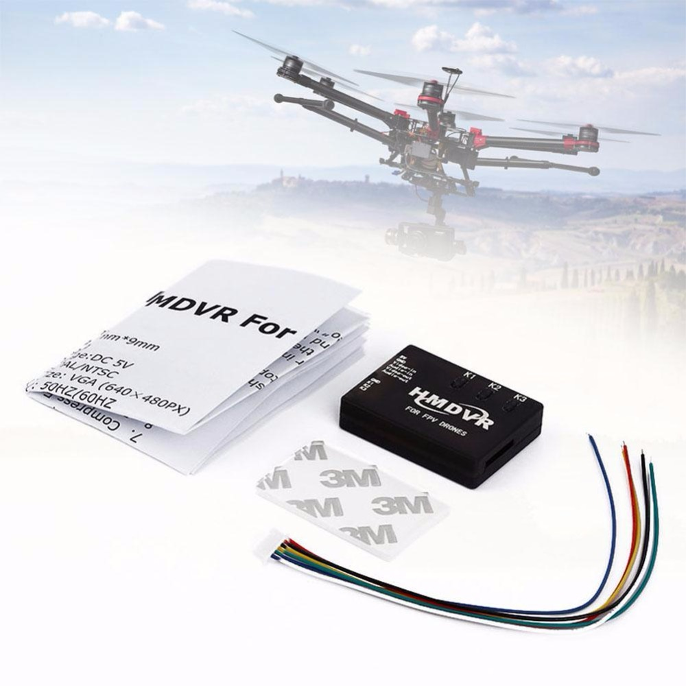 Light RC DVR Mini Digital Video Audio Recorder 30fps for FPV Drone Quadcopter anime high school sexy himejima akeno model figure toy pvc action figure collection model toys for gift