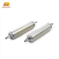 Bombilla de LED regulable R7S Corn SMD2835 5W 10W 15W luz LED AC 110V 220V reemplazar la lámpara halógena reflector blanco frío cálido