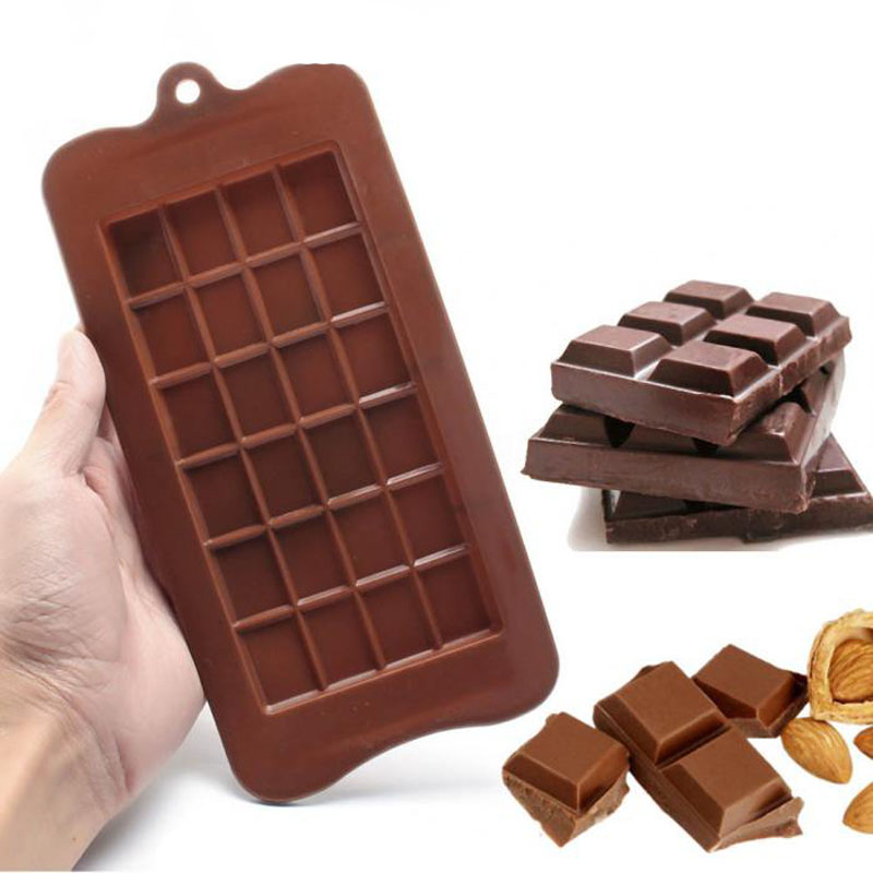 Chocolate Chunks Dunmore Candy Kitchen: 24 Cavity Cake Bakeware Kitchen Baking Tool Silicone
