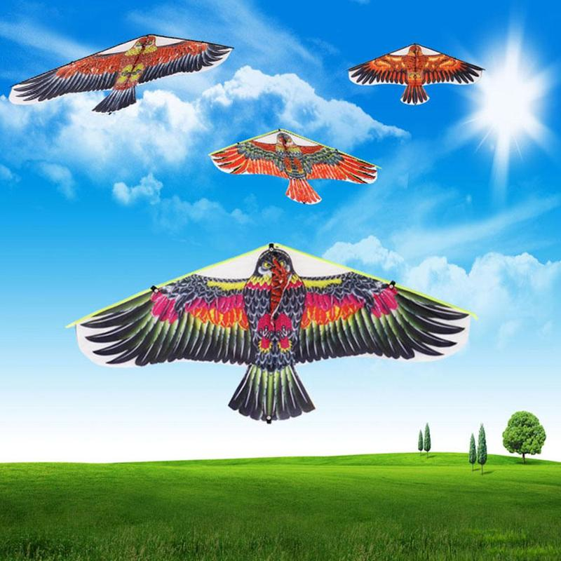 Plus 50 Meters Line And Line Board New Eagle Kite Wholesale Triangle Flat Eagle Children's Kite Factory Direct Sales