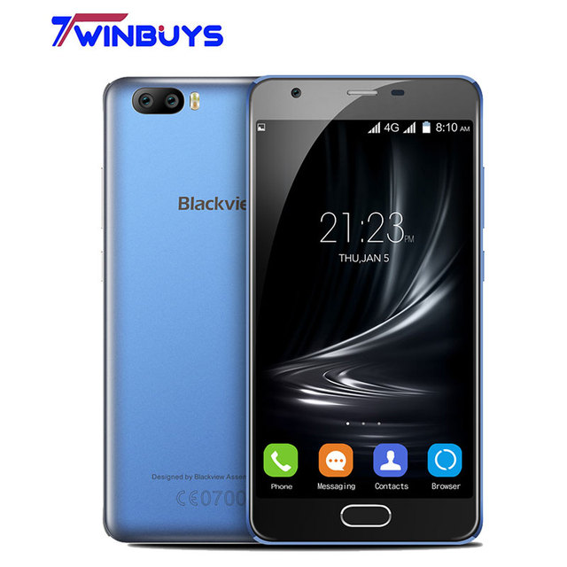 2017 Blackview A9 PRO Dual Back lens mobile phone 2GB RAM 16GB ROM MTK6737 8MP Type-C Front Fingerprint Android 7.0 Smartphone