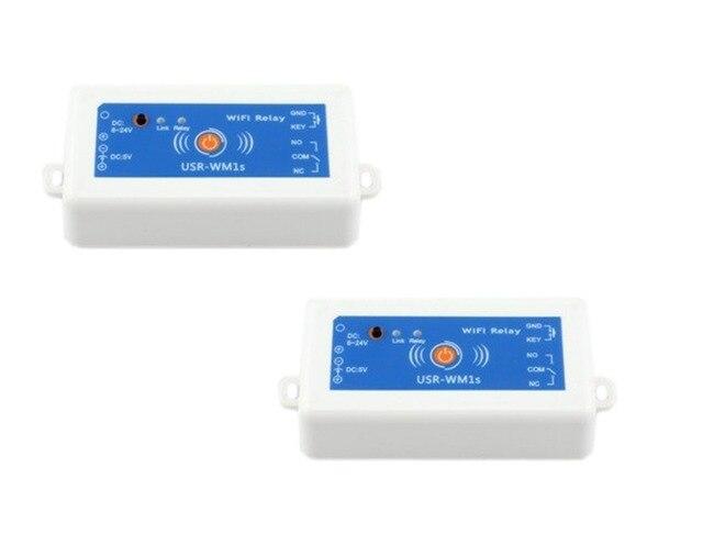 1 Piece USR-WM1s 1 Output Wifi Remote Control Relay,DC 6-24V Power Q00200