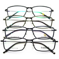 Exceder luz tungstênio titanium aço plástico armação de óculos senhora alta quadro miopia quadro de imagem homem miopia óculos oculista