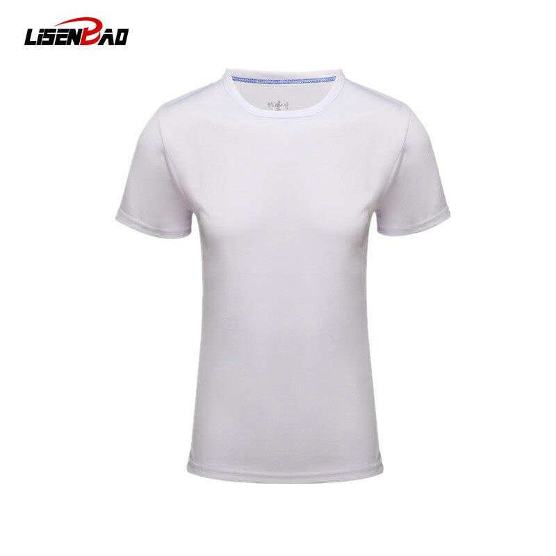LiSENBAO 2017 Summer breathable clothing Shirt Males Lines Tights Fitness fashion T-shirt Fast Drying Clothes t shirt men