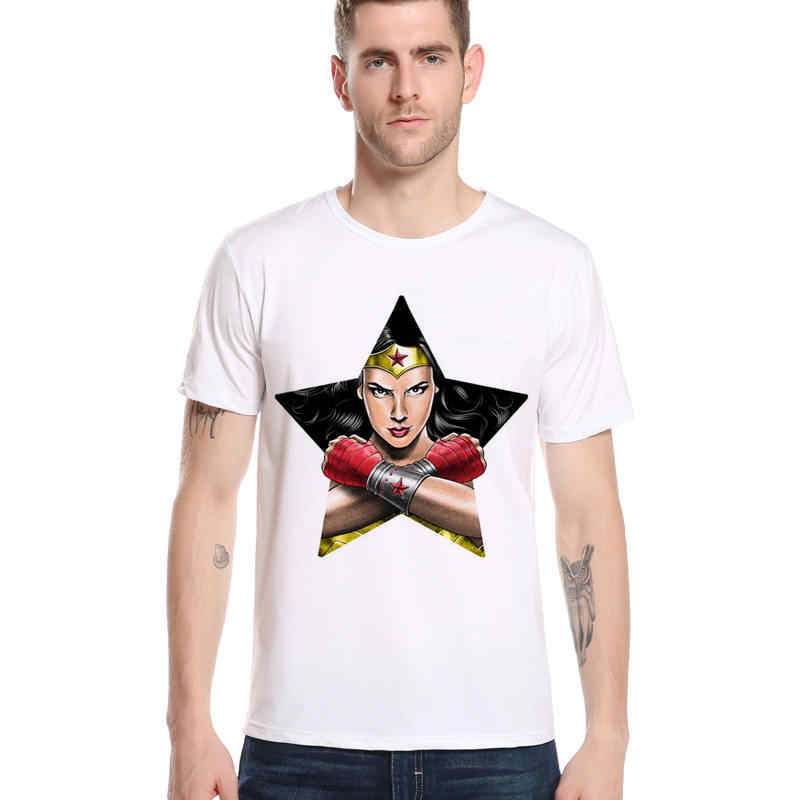 不思議男プリントファッション衣服クール Tシャツ男性女性半袖スーパー hero アイアンマン vintageTop Tシャツ Tシャツ S-3XL L1-F10