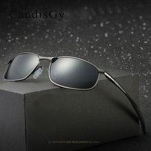 Мужские солнцезащитные очки марки дизайнер HD объектив солнцезащитные очки UV400 зеркало очки мужской поляризованные Модные Качественные