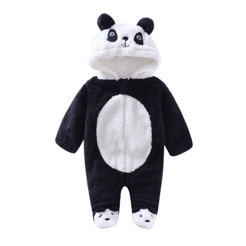 en venta mejor amado varios estilos 2019 invierno/otoño cálido bebé monos oso animal/panda bebé ...