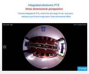 Image 5 - BESDER Fisheye VR 360 תואר פנורמי מצלמה HD 960P אלחוטי Wifi IP מצלמה אבטחת בית מעקבים מערכת מצלמה P2P iCsee