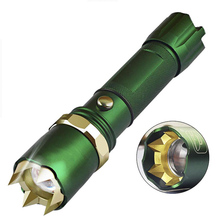 LED Bright Powerful LED Flashlight 18650 Tactical Flashlight Women Self Defense Supplies Self-defense Weapon Equipment