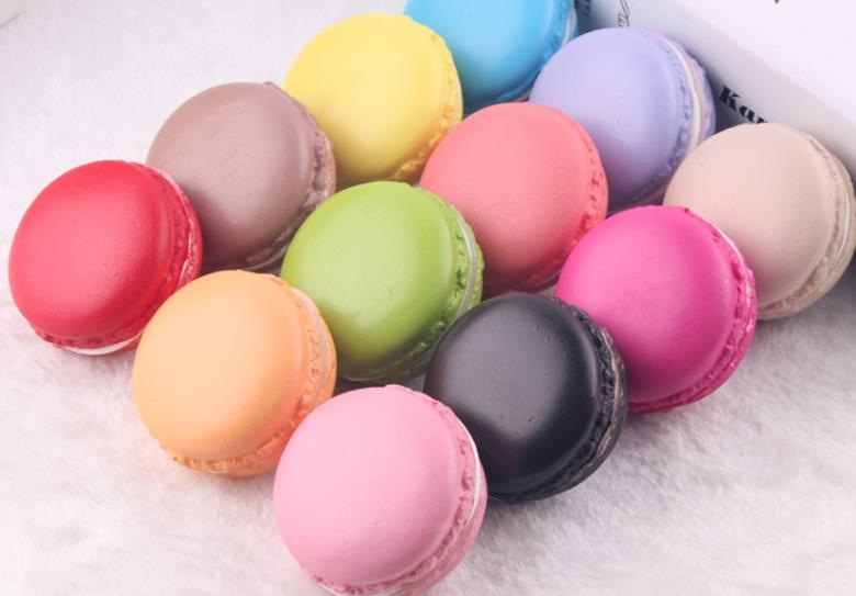 100PCS WHOLESALE kawaii squishy 5CM Macaron rare squishy mix color ...
