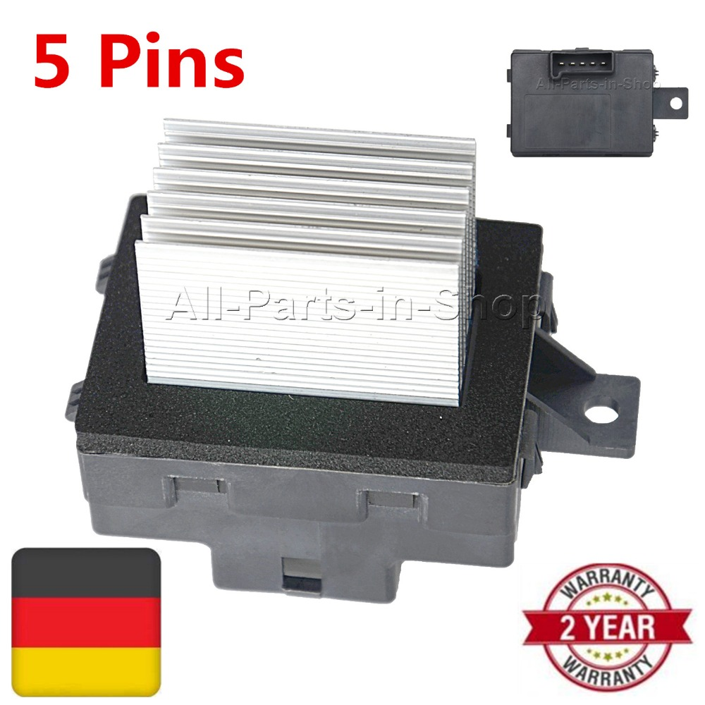 New 1 x Pcs Blower Motor Resistor for Ford Fusion Mercury Lincoln MKZ OE#8E5Z19E624A, 8E5Z-19E624-A, 4P1589, JA1712