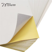 KiWarm Glossy Matte Label A4 Self Adhesive Paper With Adhesive Inkjet Printing Sticker Printer Laser Printer
