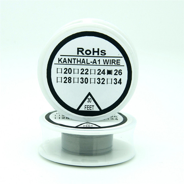 Resistor AWG Nichrome wire 26 Gauge 30FT 0.4mm Cantal Resistance ...
