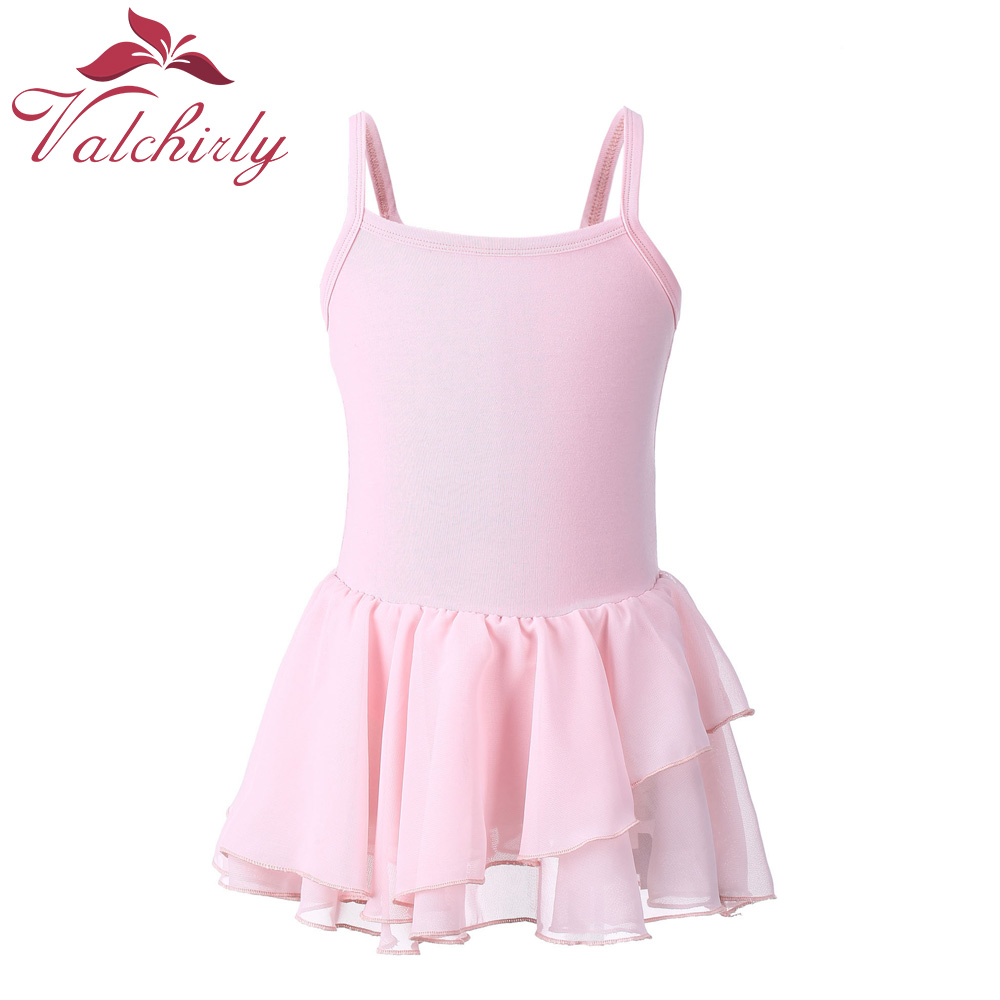 Camisole Ballet Leotards For Girls Ballet Dance Dancewear Gymnastics Leotard Dress(China)