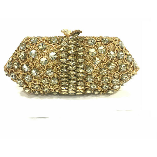 New crystal clutch evening bags with fixed metal handle ladies luxury diamante handcraft women clutch party purse Female bagNew crystal clutch evening bags with fixed metal handle ladies luxury diamante handcraft women clutch party purse Female bag