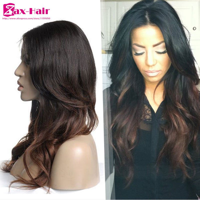 Glueless Full Lace Human Hair Wigs Body Wave Lace Front