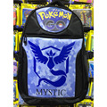 Mobile Games Pokemon Go Laptop Backpack/Double-Shoulder/School/Travel/Anime Bag Printed w-The Insignia of Team Mystic