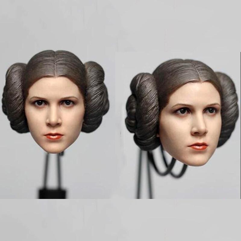 """1//6 Scale Star Wars Luke Skywalker Head Sculpt Fit for 12/"""" Action Figure Body"""