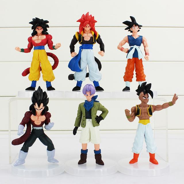 Dragon Ball GT Figures 6Pcs Lot