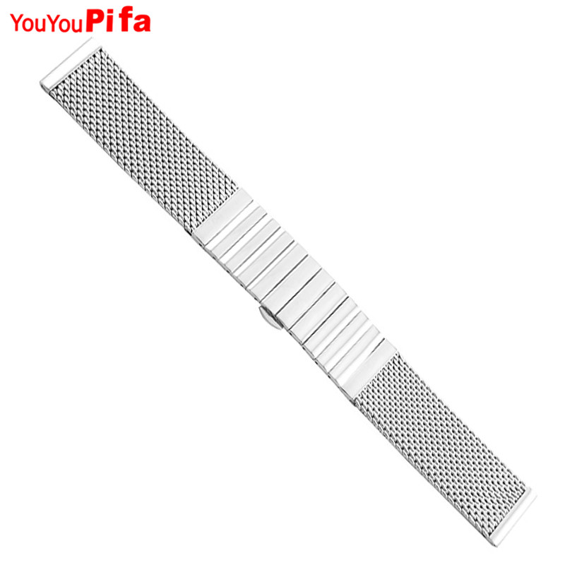 Hot Sale Stainless Steel Milanese Men Watch Band 18mm 20mm 22mm 24mm High Quality Watchband Women Watch Straps Bracelet