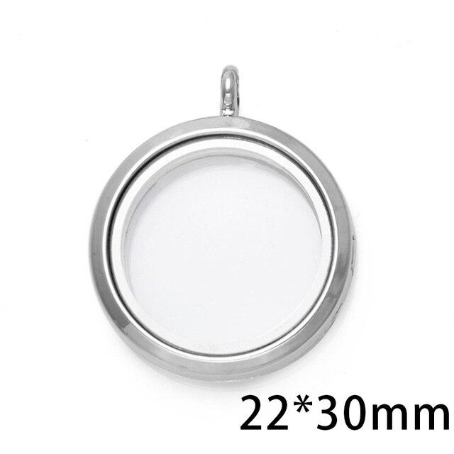 Купить 1 шт родиевое ожерелье 30 мм с магнитным стеклом картинки