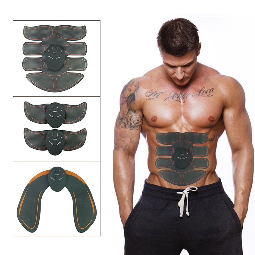 Ingenious Abdominal Muscle Trainer Fitness Toner Belly Leg Arm Pad Exercise Ems Stimulation Training Muscle Stimulator Gear Body Massager Fitness Equipments