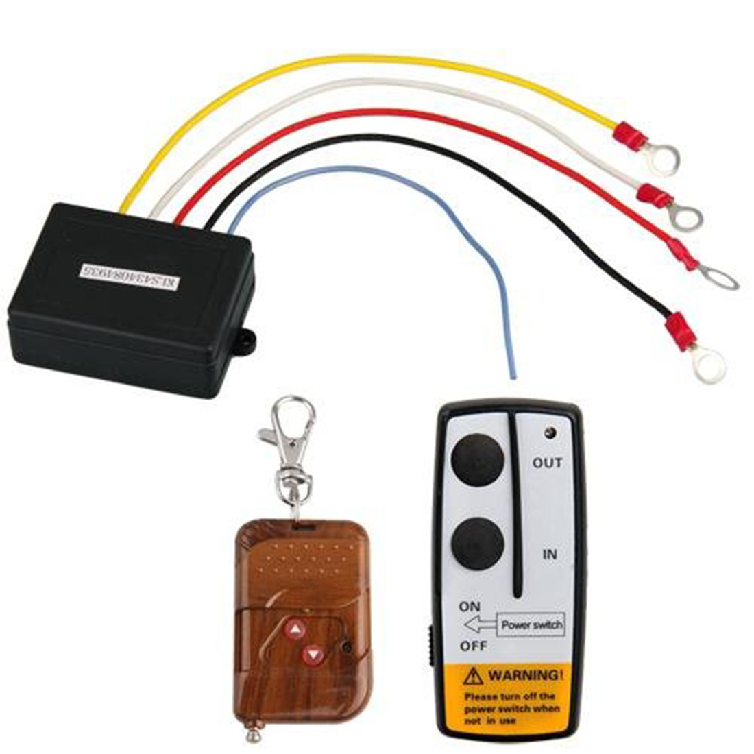 Marsnaska Brand new and high quality 50ft 12V 12 Volt Wireless Remote Control Set For Truck Jeep ATV Winch