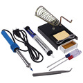 hot selling fashion new  9 in1 60W DIY Electric Solder Starter Tool Kit with Iron Stand Desolder Pump good sale