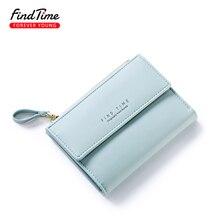 Small Women Zipper Wallet