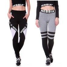 NEBBIA 2018 Йога женские брюки, леггинсы для спорта йоги Бег Брюки-колготки тренажерный зал женские спортивные Леггинсы Фитнес
