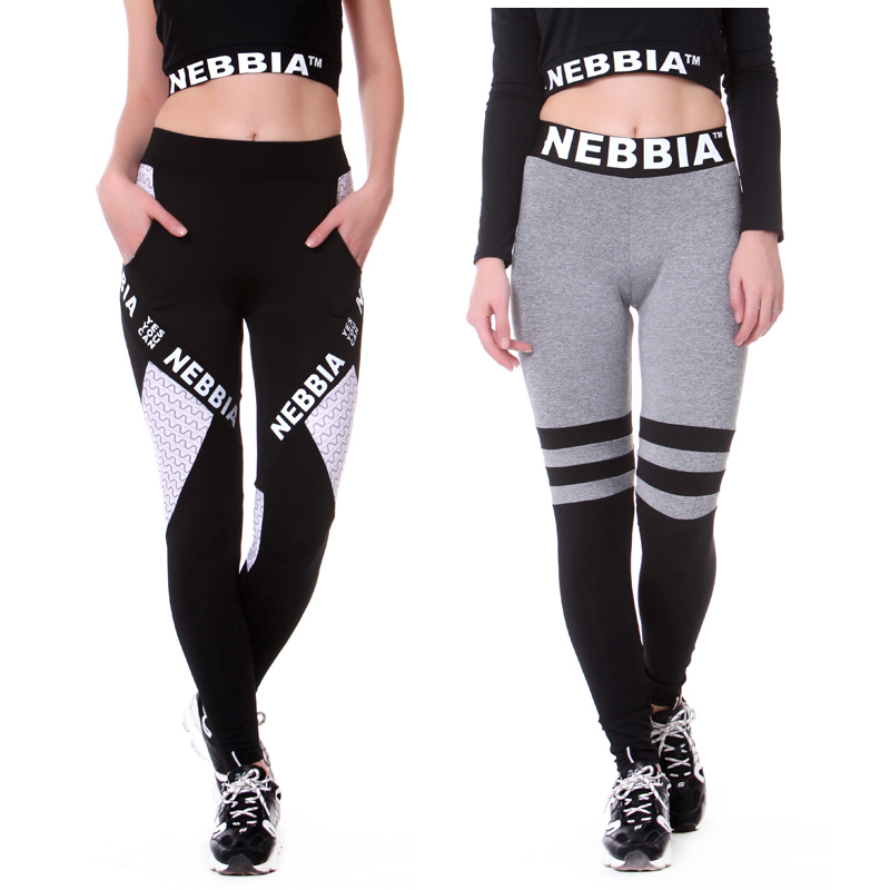 NEBBIA 2018 pantalones de Yoga para mujer Leggings deportivos Leggings de Yoga pantalones para correr mallas entrenamiento gimnasio Legging Deporte Mujer Fitness