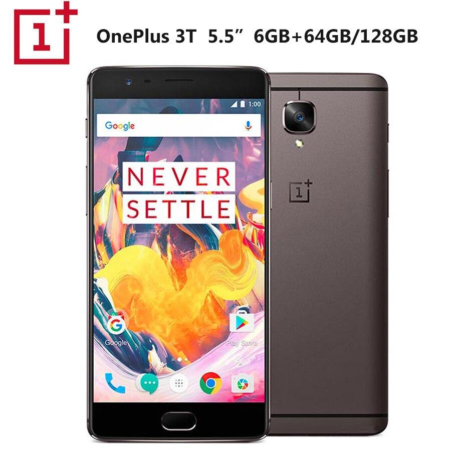 Фото. Оригинальный мобильный телефон Oneplus 3 T A3003 Dual SIM 5,5 дюйм 6 Гб ram 128 ГБ rom Snapdrag