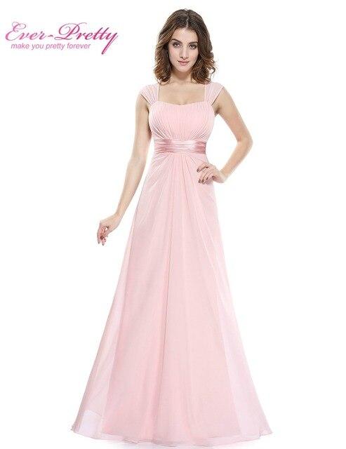 Long Simple Bridesmaid Dresses