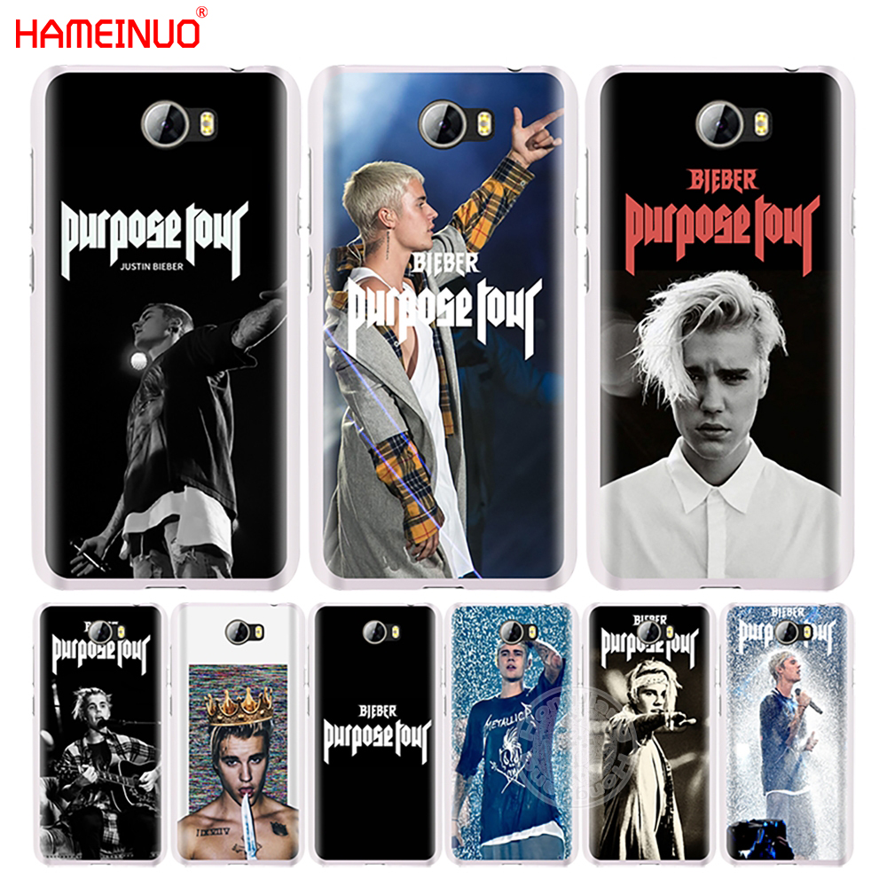Qualified Hameinuo Justin Bieber Purpose Tour Cell Phone Cover Case For Huawei Honor 5a Lyo-l21 6a 6c 6x 9 Nova Plus Lite Y3 Ii 2 Cellphones & Telecommunications Half-wrapped Case