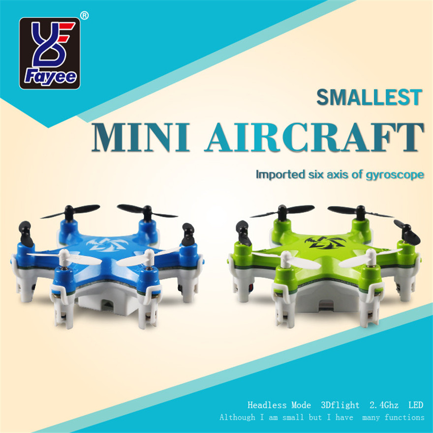Alta quqlity fy805 mini rc quadcopter 2.4 ghz 4ch 6 axis gyro drone toys regalo