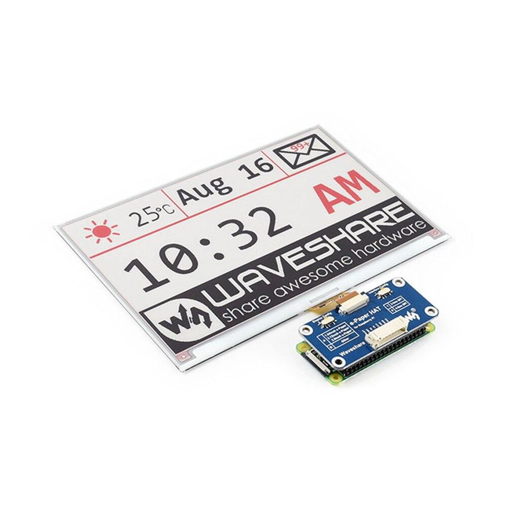 7.5 pouces accessoires électronique SPI Interface e-paper chapeau écran e-ink Module d'affichage bicolore clair 640x384 pour Raspberry Pi