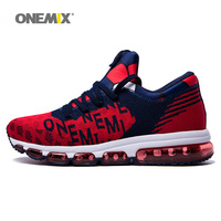 Max Men Running Shoes Women 2018 Trail Nice Trends Athletic Trainers Navy Red Mens High Top