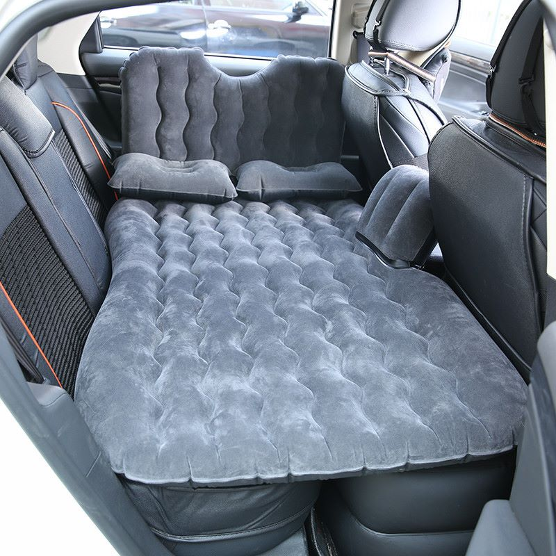 Upgraded Car Travel Inflatable Bed Air Mattress Back Seat