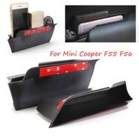 2 шт./компл. автомобиля внутренняя сторона ручка передней двери подлокотная коробка для хранения лоток для подручника держатель для Mini Cooper ...