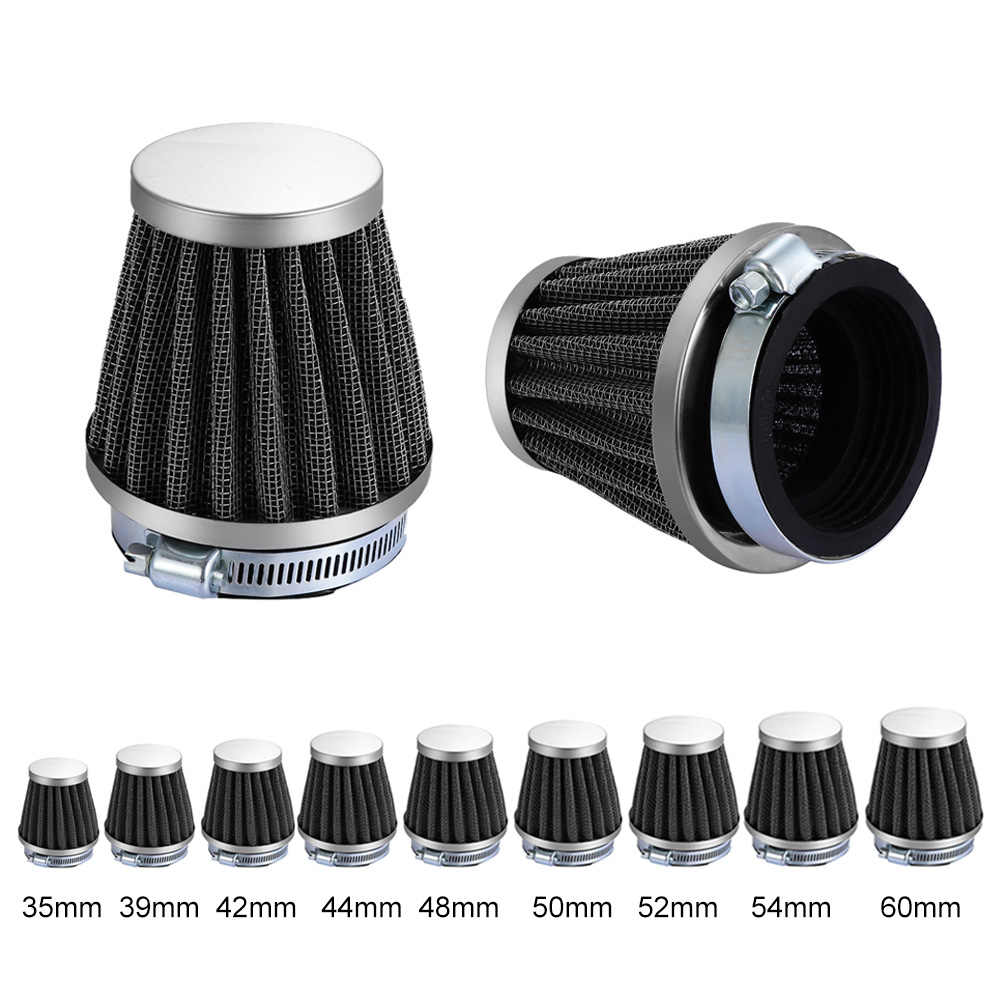 54 Mm 38 Mm 42 Mm Motorcycle Air Filter 52 Mm 39 Mm 35 Mm Paddestoel Hoofd Pod Cleaner 48mm 46 Mm 50 Mm Double Foam Filter