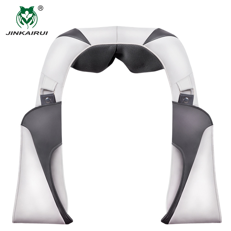 Jinkairui Charge Shoulder Neck Kneading Massage Shawl Silicone Massage Head Extension Velcro Car/ Home Travel Carry Bandage Use Jinkairui Charge Shoulder Neck Kneading Massage Shawl Silicone Massage Head Extension Velcro Car/ Home Travel Carry Bandage Use