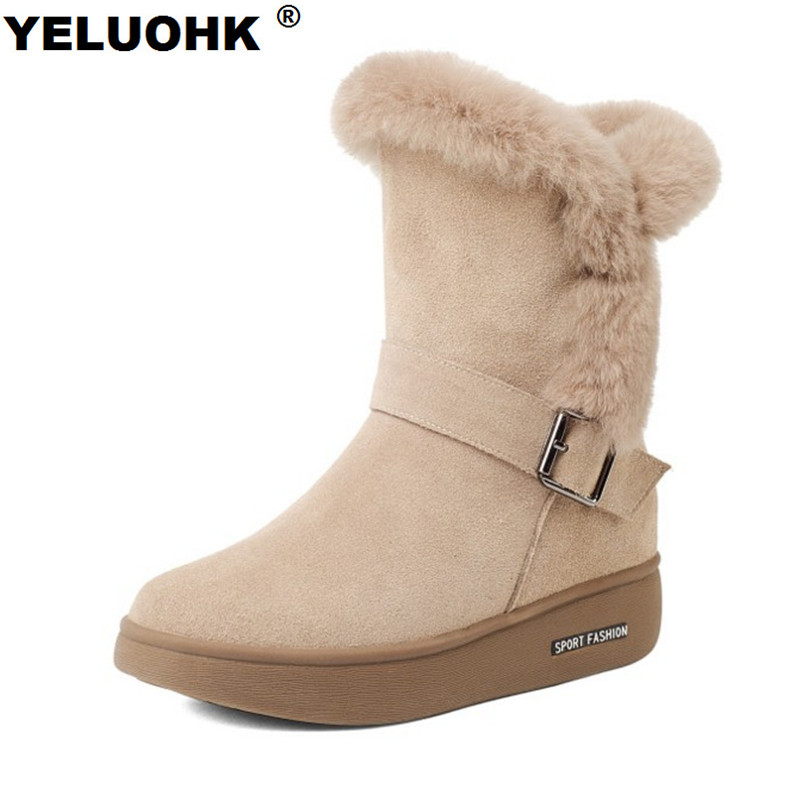 Plush Genuine Leather Winter Boots For Women Shoes Warm Fur Ankle Boots For Women Casual Platform Shoes Women Boots Australia women s winter genuine leather platform boots faux fur mink hair shoes black shoes size 34 40 wb010