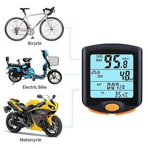 Image 4 - Bogeer YT 813バイクスピードメーターデジタル自転車コンピュータ多機能防水スポーツセンサー自転車コンピュータスピードメーター