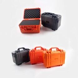357*269*187 мм защитный ящик, ящик для инструментов, водонепроницаемое оборудование, ящик для инструментов, Противоударная губка, пластиковый ге...