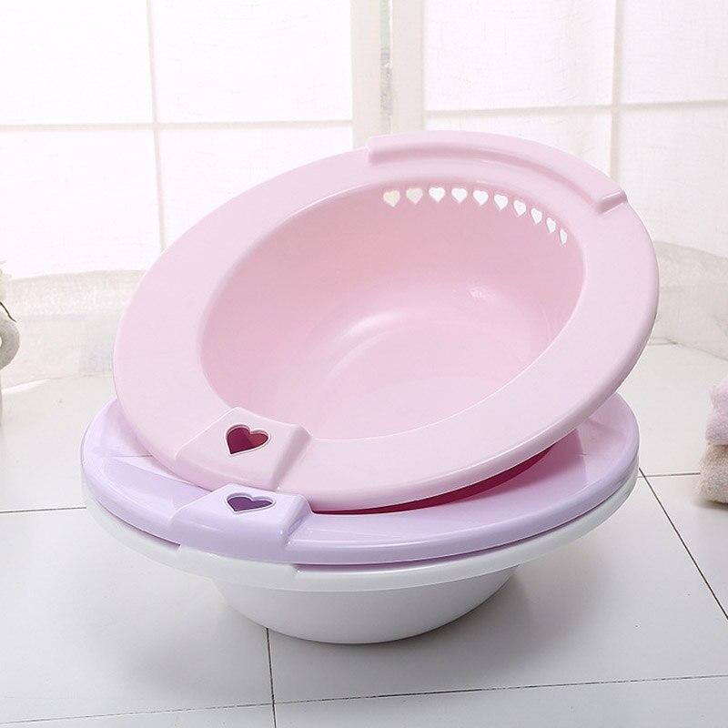 Plastic Hanging Maternal Cleaning Basin Bathroom Washbasin For Toilet Postoperative Clean Tool Hot Sale